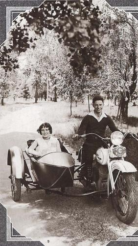 Vintage Goulding sidecar from The Goulding Album by Ron Rae